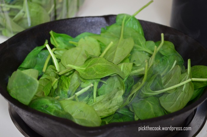 butter spinach
