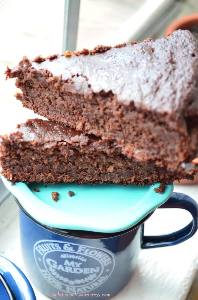flourless brownie
