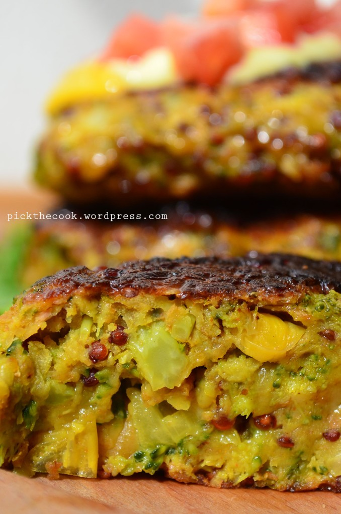 broccoli veggies burger