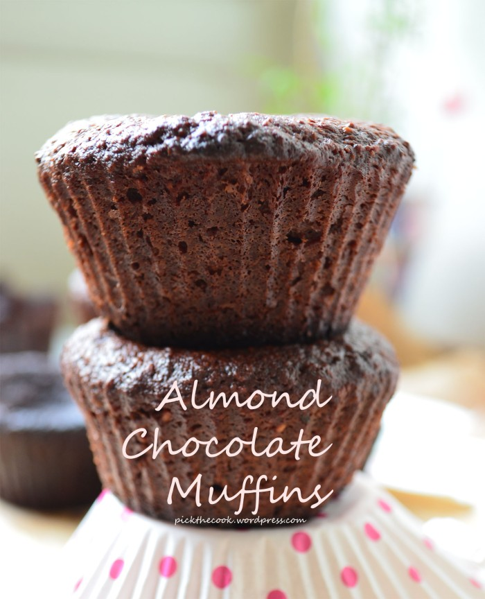 flourless chocolate muffins
