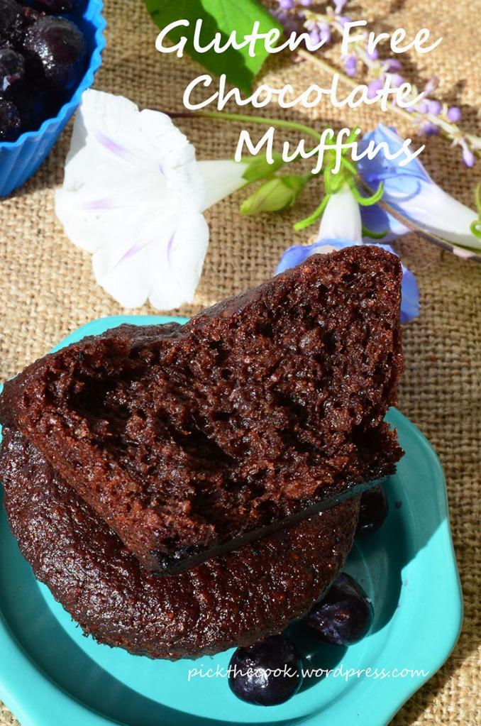 gluten free chocolate muffins mic