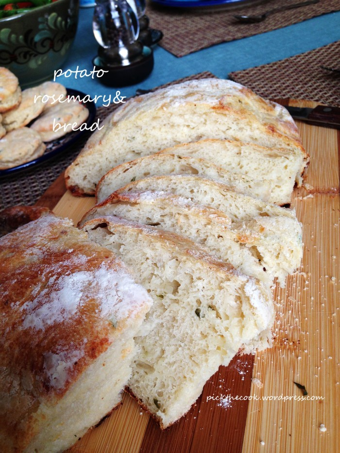 potato & rosemary bread