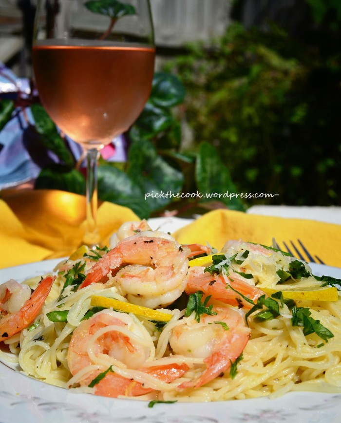 capellini with shrimp small2