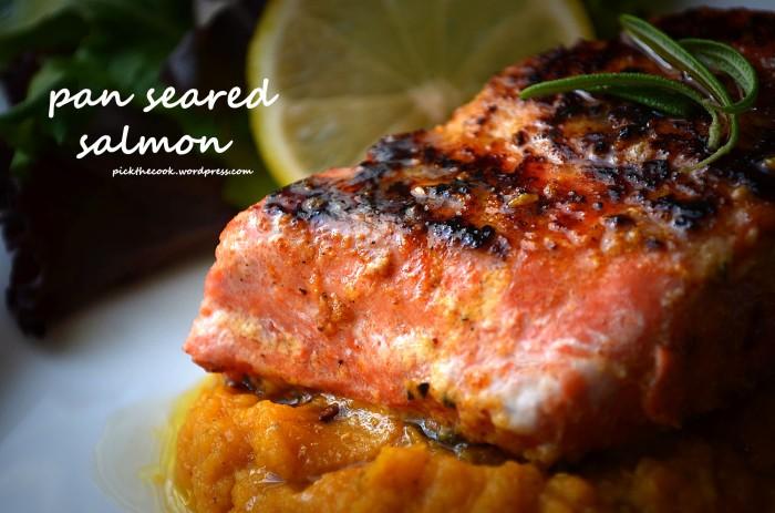pan seared salmon11