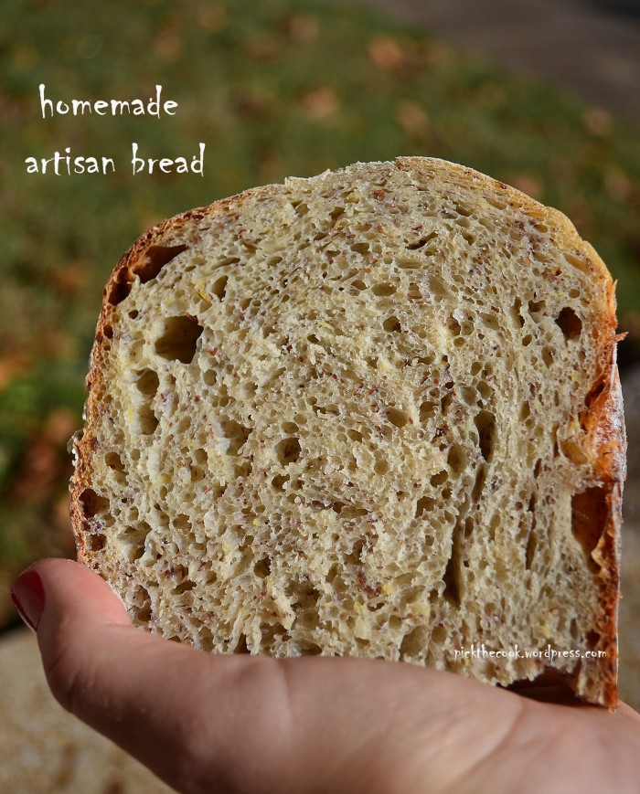 homemade artisan bread