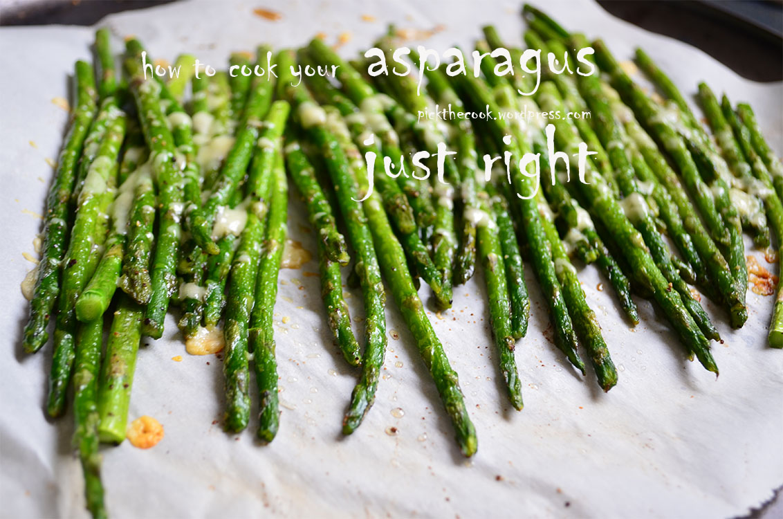 how to cook fresh asparagus in a pan