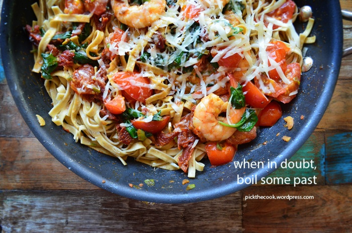 shrimp pasta 2